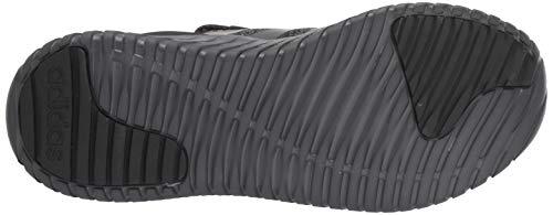 adidas mens Kaptur Sneaker, Black/Grey/Grey, 12 US