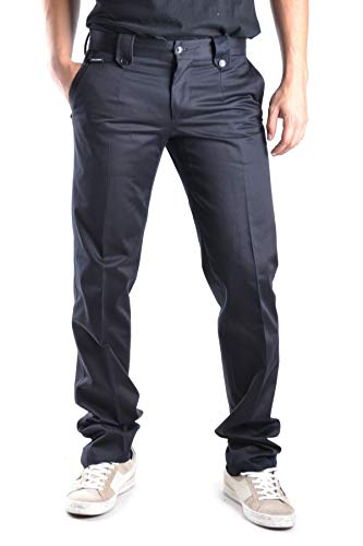 Dolce E Gabbana Pantaloni Uomo Mcbi11938 Cotone Nero