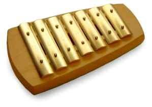 Auris Glockenspiel, pentatonisch, 7 Töne inkl. Kautschukschlägel