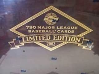 2002 Topps Tiffany Limited Baseball Complete Factory Sealed Set Only 1950 Numbered Sets Produced