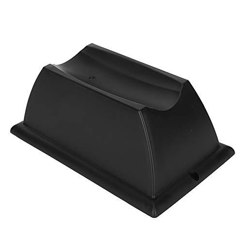 Hebrew Stabile Leistung Vorderradstütze aus Kunststoff, Vorderradauflage, Schwarz/Grau für Fahrradtrainer für den Innenbereich(Black)