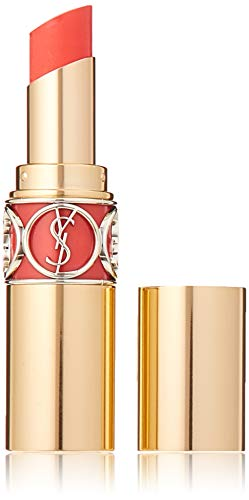 Yves Saint Laurent Rouge Volupte Shine Lipstick No.12 Corail Incandescent for Women, 0.15 Ounce