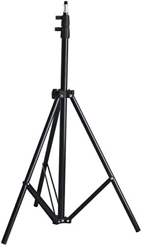 Riqiorod Light Stand 7 Foot Photography Tripod Stand Floor Selfie Ring Light Support for Studio product image