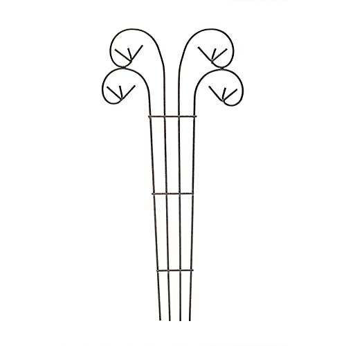 Metal jardín obelisco planta planta mariposa flores crecer marco marco trellis viñas floral decoración, planta de hierro a prueba de herrumbre enrejado, para rosa viñas verduras pepino