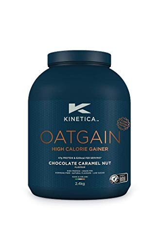 Kinetica Oatgain Powder, Chocolate Caramel, 15 Servings, 2.4kg, Pre and Post Exercise Endurance, Stamina and Muscle Repair