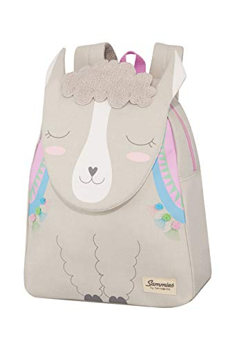 Samsonite Happy Sammies - Kinder-Rucksack S+, 34 cm, 11 L, Grau (Alpaca Aubrie)