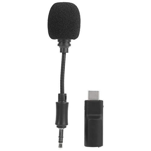 EVTSCAN Mini micrófono, micrófono de grabación de Condensador portátil para dji OSMO Pocket Ballhead Camera Durable de Usar