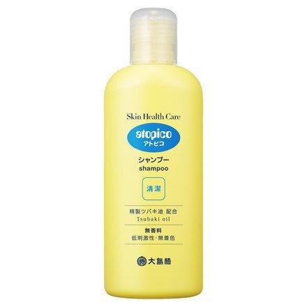 Atopico Skin Health Care Shampoo 250ml (Green Tea Set)