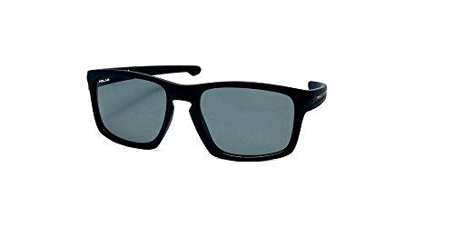 Preisvergleich Produktbild sonnenbrille unisex polarisiert matt schwarz (P35176)