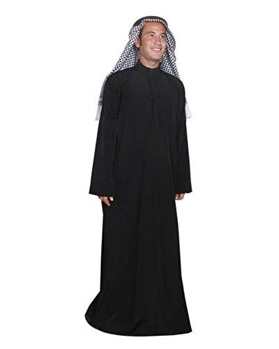 Tres Piezas De Cabeza Jeque Disfraz Jeque Disfraz, carnaval Disfraz–Disfraz, Negro