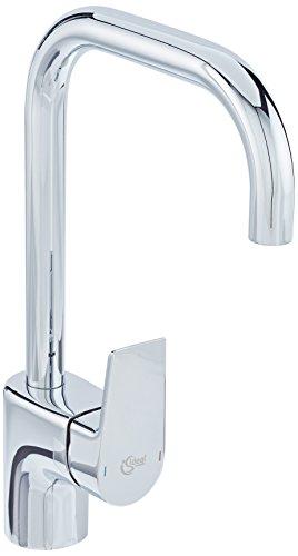 Ideal Standard A6571AA TESI Waschtischamatur mit hohem Auslauf silber