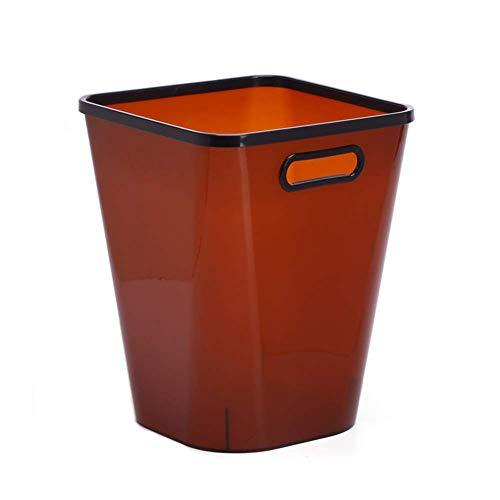 Review Of JFGX Waterproof Waste Bin Trash Bin Small bin Waste Paper Bin Swing Bin for Office Bedroom...