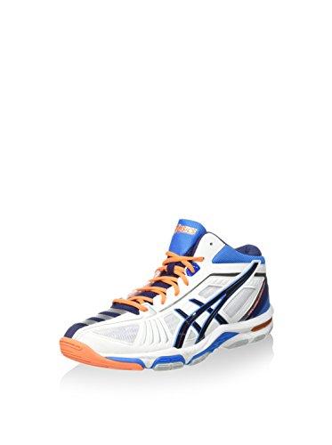 ASICS Sportschuh Gel-Volley Elite 2 Mt weiß/Marine/blau EU 44.5