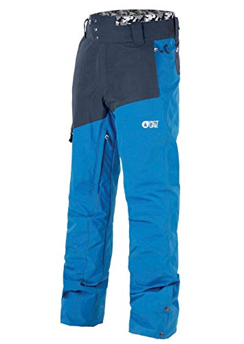 Picture Organic Pantalon De Ski Panel Blue
