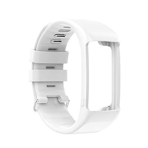 Correa de repuesto para pulsera inteligente con hebilla negra para A360/A370, correa de repuesto elástica de gel de sílice para smartwatch, varios colores a elegir