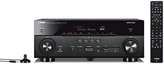 YAMAHA AVENTAGE RX-A780 7.2-Channel Network AV Receiver with MusicCast, Wi-Fi and Bluetooth, 5 HDMI in/2 Out