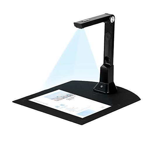 Robor Portable High-Definition-Scanner Büro Klassenzimmer, Können Nach PDF Konvertieren/Durchsuchbare PDF/Word/Excel, Capture Size A4 USB Dokument Kamera