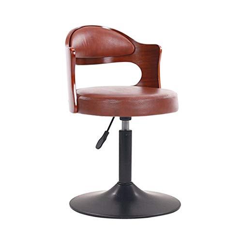 Tuqia ontbijtstoel, stoel, zwart, poten klassieke stoel, verstelbare lift, gaslift voor keuken en thuis, hoge stoel, Living Furniture stoelen Modern design 40-55CM B