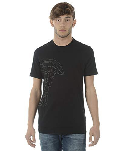 Versace Collection - Herren-T-Shirt V800683SVJ00360 SCHWARZ M