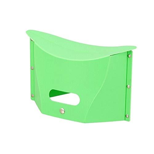 GZQDX Banco Portable de la Mano del Banco Multi Propósito de plástico Plegable Taburete de Paso Principal de Tren al Aire Libre Plegables de Almacenamiento de baño de los niños (Color : B)