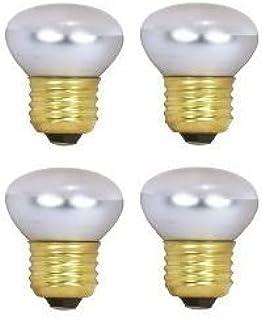 HC照明–r14Reflector 25ワット120V / 130V標準ねじベース調光機能付きe2640WフロストラバランプとReflector電球( 4/ PK )