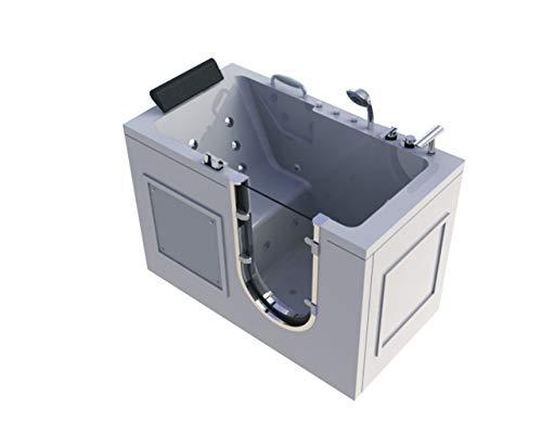 LCLLXB bañera hidromasaje Jacuzzi Antiguo para Uso en Interiores
