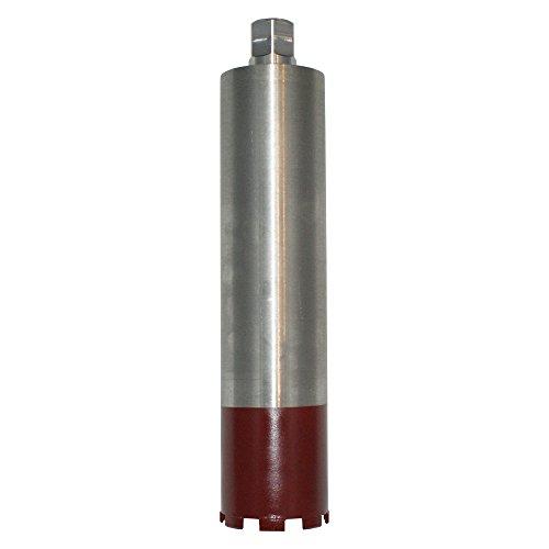 Diamantbohrkrone Ø 202 mm Bohrkrone 1 1/4 Zoll Nass + Trocken Kernbohrer mit 400 m Nutzlänge für Beton, Stahlbeton, Altbeton, Schamottstein, Mauerwerk, Ziegel, Klinker etc. - BoDi-TOOLS