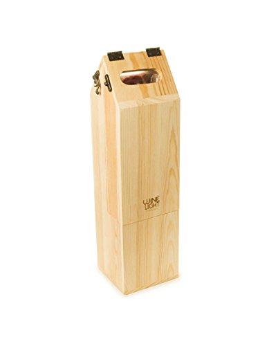 Rackpack Wein Licht, braun