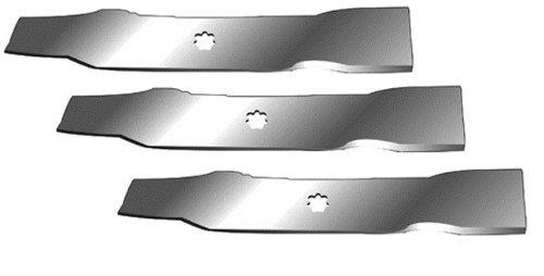 Vervangende set van drie (3) grasmaaier messen geschikt voor John Deere GX21784 GY20852 11595