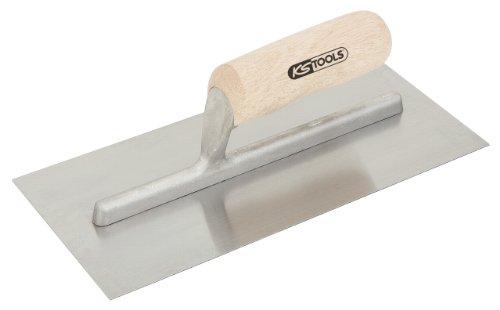 KS Tools 144.0158 Platoir droit lame acier manche bois 130 x 280 mm