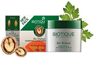 Biotique Bio Walnut Purifying & Polishing Scrub For Normal To Dry Skin 50gm