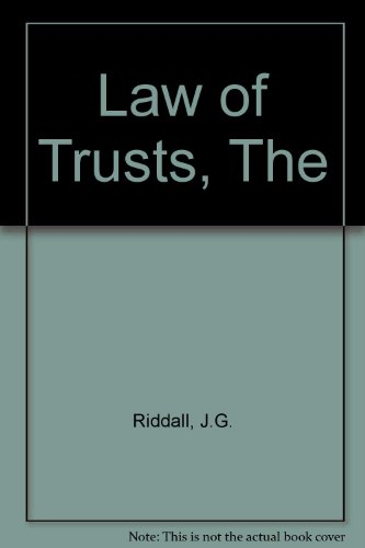 Law of Trusts, Theの詳細を見る