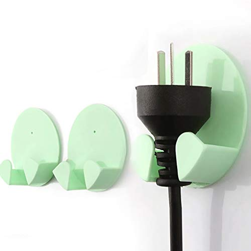 Weilifang 2ST Praktische Gum Haken Stecker Startseite Haken Stecker Haken für den Gebrauch im Haushalt Farben Zufall