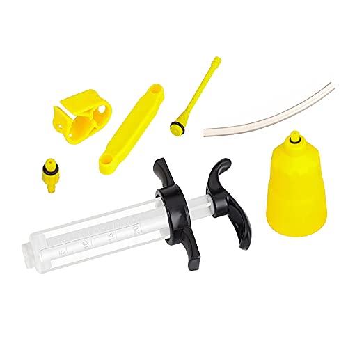 Bestgle Kit purgeur de frein à huile pour freins à huile Kit de purge de frein pour vélo, frein à disque, huile minérale