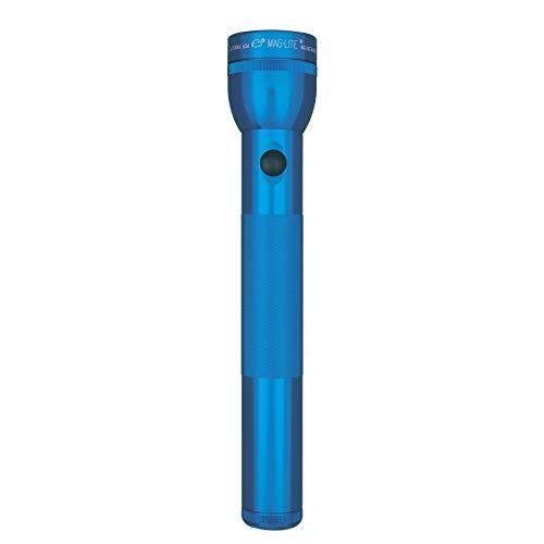 Maglite–Linterna LED de 3celdas D en caja expositora, azul, ST3D115