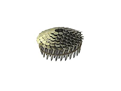 Grip-Rite 1-1/4-Inch 15? Electro-GALVANIZED Coil Roofing Nails, Smooth Shank, 600 nails per tub by Grip-Rite