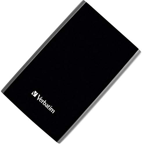 Verbatim 500GB Externe Festplatte (6,3 cm (2,5 Zoll), SATA, USB 3.0) schwarz