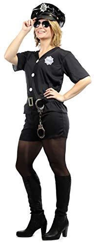 Brandsseller Damen Kostüm Verkleidung Polizistin Karneval Fasching Cop S