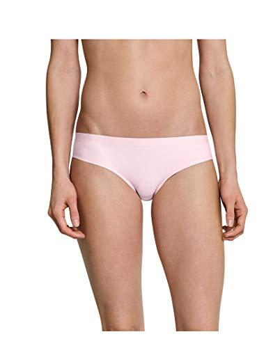 Schiesser Damen Slip Invisible Cotton 3er Pack, Größe:42, Farbe:Rose (506)