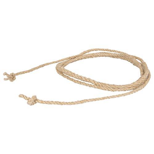 Springseil aus Hanf mit verstärkter Mitte Sprungseil Hüpfseil Seilspringen