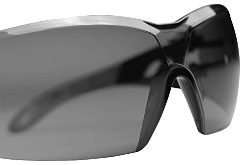 Uvex Sonnenbrille Schutzbrille pheos getönt, 100% UV-Schutz, gemäß EN 166 + EN 170 - 4