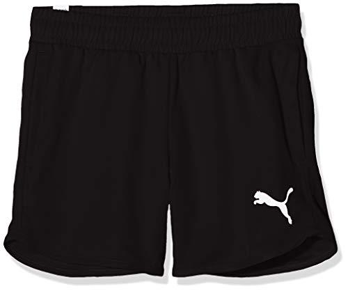 PUMA Mädchen Active Shorts, Black, 152