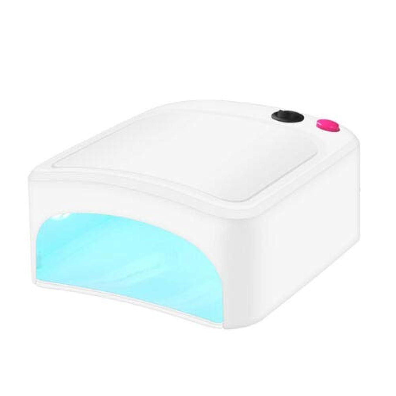 ロケーションネコ大使館FidgetGear 新しいプロ36W UV ネイルランプドライヤー硬化ライト用USBジェルネイルアートポリッシュGBW 白