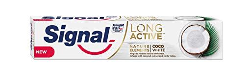 Signal Coco White Pasta de Dientes - 6 Paquetes de 75 ml - Total: 450 ml