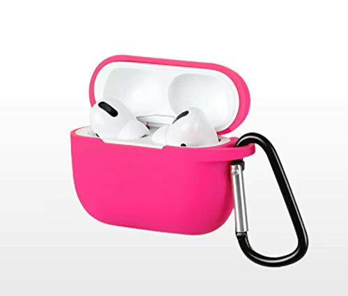 NIGMN Is Suitable For Airpod 3 Silicone Shock-proof Airpods Case Cover Supports Wireless Charging Waterproof Case Skin With Keychain Is Compatible With Apple Airpods 3 Suitable For Both Men And Women