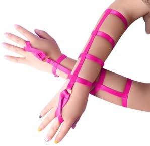 Women's Harness Bracelet Belt Fashion Bracelet Belt Multicolor D
