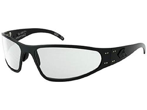 Gatorz Sonnenbrille Wraptor Ansi Z87 Matte, WRAZBLK06A