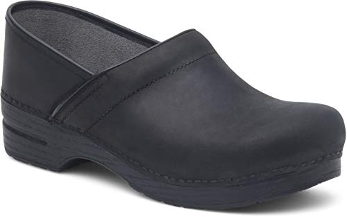 Dansko Women's Pro XP Black Oiled Clog 4.5-5 M US