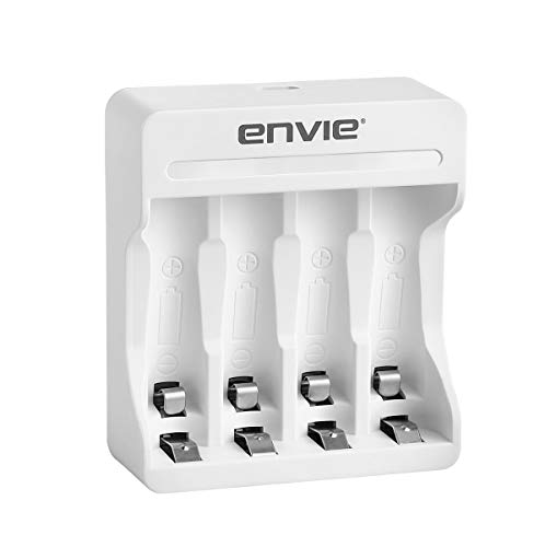 Envie Charger for AA & AAA Rechargeable Batteries ECR 22 Rio