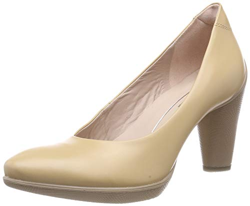 ECCO Damen Sculptured 75 Pumps, Braun (Volluto 1310), 37 EU
